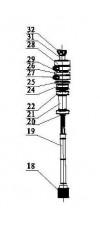 Узел кулачков выключателей конечных положений (арт. ASI.006)