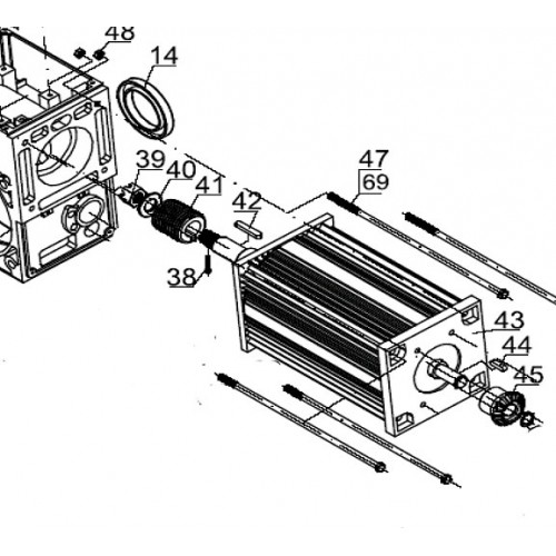 Электродвигатель (арт. ASI.306)