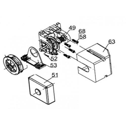 Узел цепи аварийного ручного управления (арт. ASI.307)